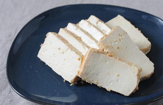 豆腐の有機みそ漬け